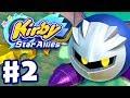 Kirby Star Allies Gameplay Walkthrough Part 2 Planet Popstar 100 Meta Knight Nintendo Switch