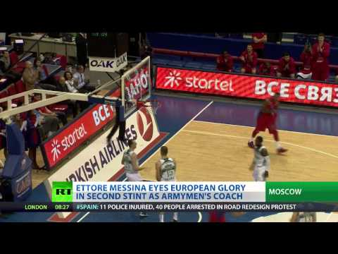 Army Beat Old Foes: CSKA defeat Zalgiris 77-62