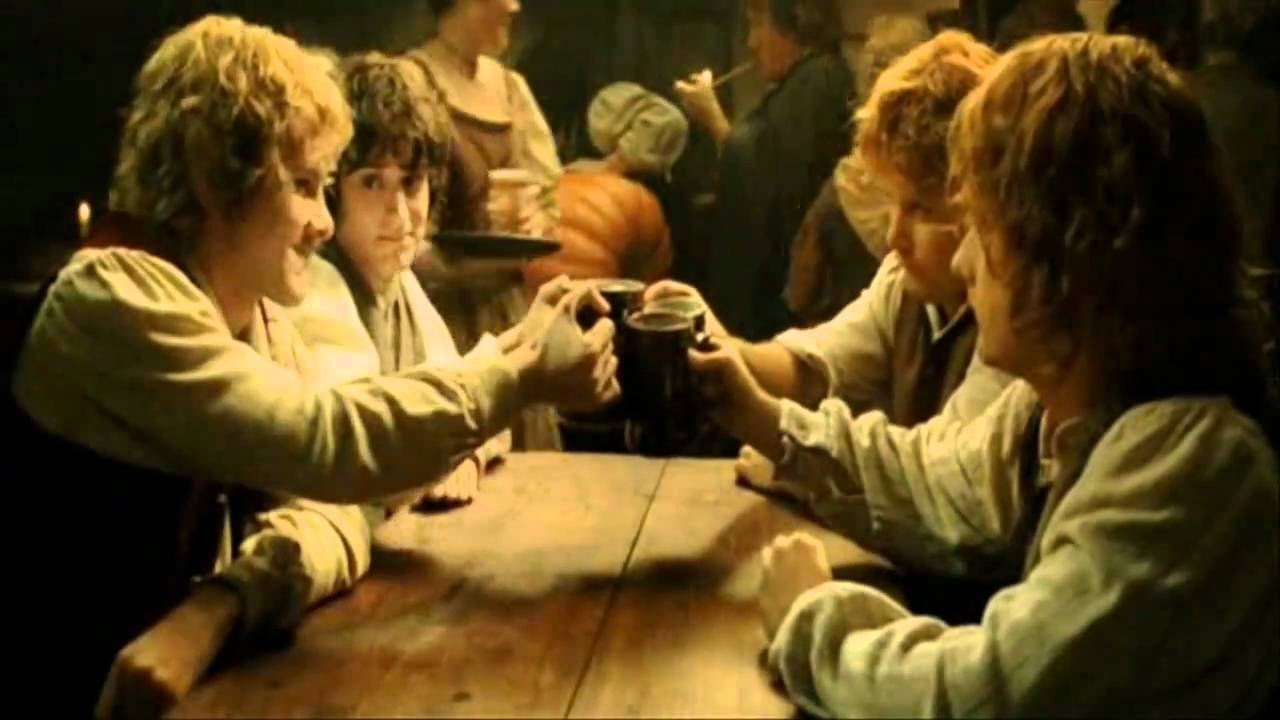 Lord Of The Rings Drinking Song Lyrics Movie