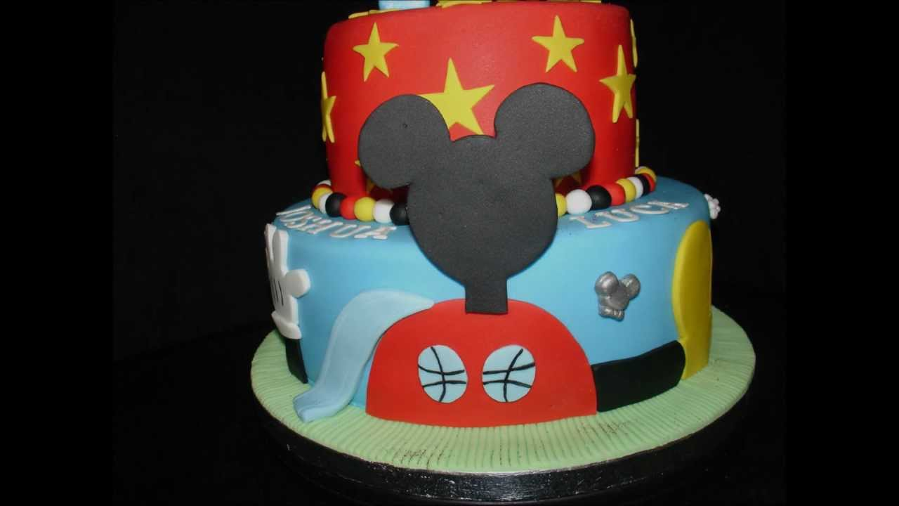 mickey mouse clubhouse cakes without fondant