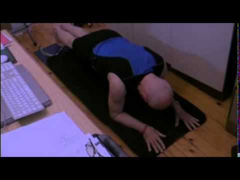 74 Year Old Folksinger Challenges The Plank With A Stick!
