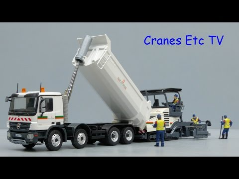 Conrad Mercedes-Benz Actros Tipper 'Jean Lefebvre' by Cranes Etc TV