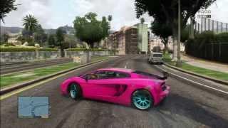 GTA5 LAMBORGHINI DRIFT
