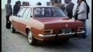 Werbung : Opel Rekord D   -   Video ...............Oeni