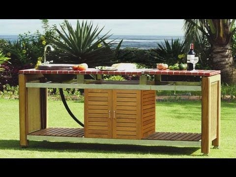 cuisines d 39 exterieur et cuisines d 39 ete design barbecues haut de gamme youtube. Black Bedroom Furniture Sets. Home Design Ideas