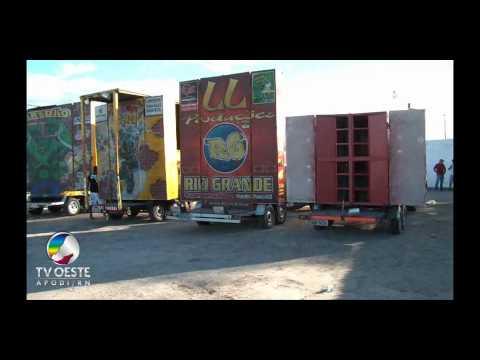 Paredão de Som - Encontro de Som Automotivo - Pau dos Ferros - RN - 29.05.2011
