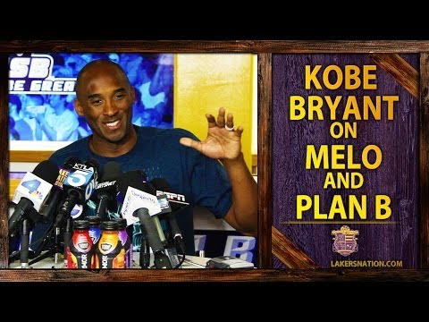 Kobe Bryant On Carmelo Anthony, Lakers Free Agency Plan B
