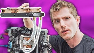 CPU Cooling with BOILING LIQUID 🔥🔥