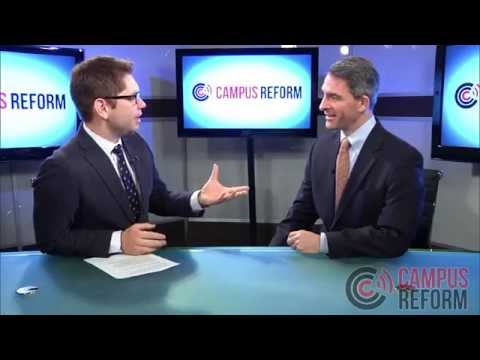 Ken Cuccinelli and Campus Reform Editor-in-chief Caleb Bonham talk millennials and Obamacare