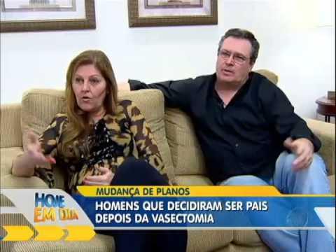 Hoje em Dia: Vasectomia revertida após 25 anos do procedimento
