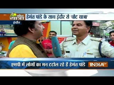 Vote Yatra 8/4/14: India TV judges the mood of Indore voters