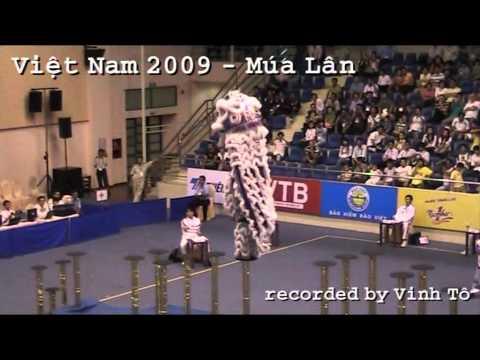 DANZA del LEONE - Mua Lan Vietnam - Múa Lân