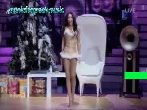 Κέλι Κελεκίδου 23-12-2012 DANCING WITH THE STARS 6o LIVE