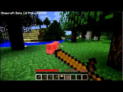 CraftShow: Minecraft 1.8 Пре-релиз, части 3/3. Общая информация, поселения, Enderman, шахты [Обновлено! 14.10.2011]