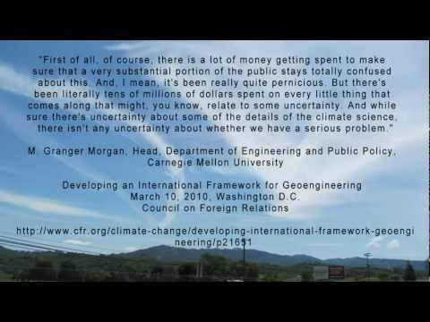 ROSALIND PETERSON: ATMOSPHERIC GEOENGINEERING AWARENESS MONTH
