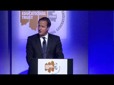 Holocaust Educational Trust: Speech by Prime Minister David Cameron