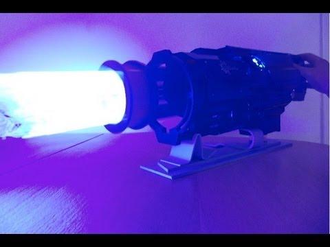 Działający prototyp lasera gatlinga