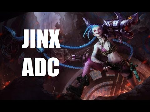 League Of Legends Ranked - Jinx ADC - Full Game Commentary