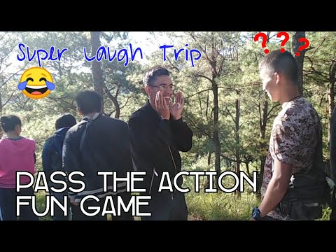 Funny Game | Pass the Message (Action Relay)