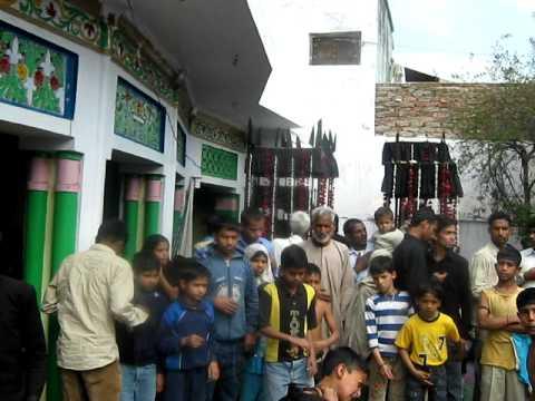 Zanjeer ka matam in Imam bargah Dolat shaheed 23 feb 2010