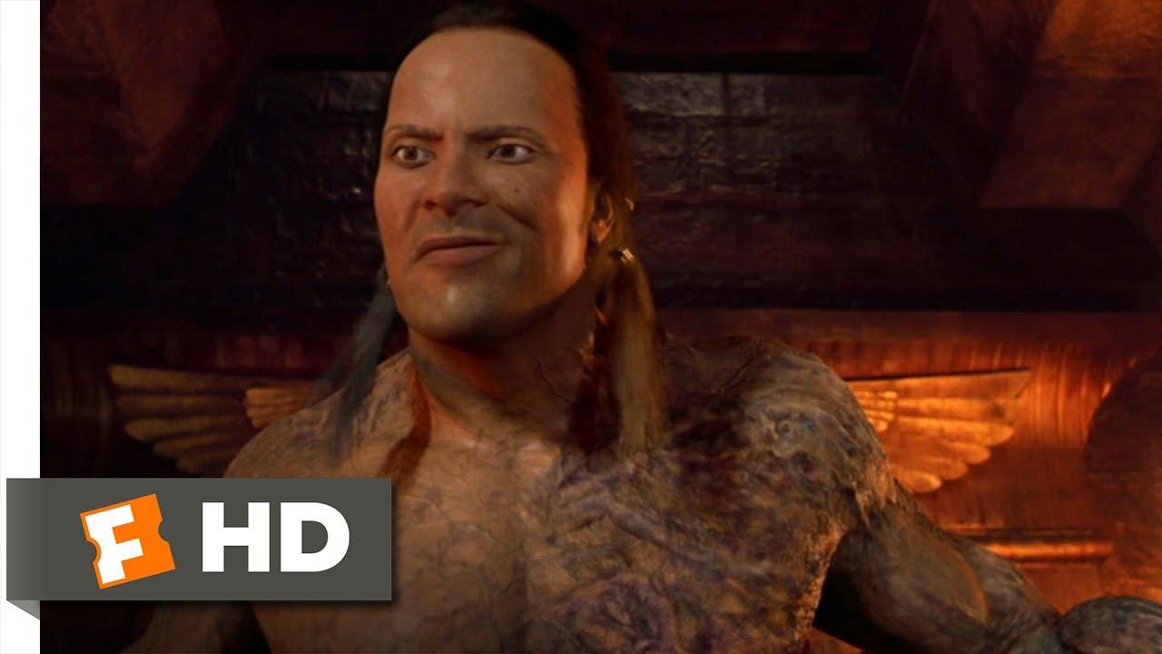 The Mummy Returns (10/11) Movie CLIP - The Scorpion King ...