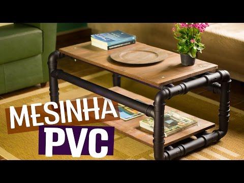 POLYTUBES - DIY: Mesa de centro de cano PVC