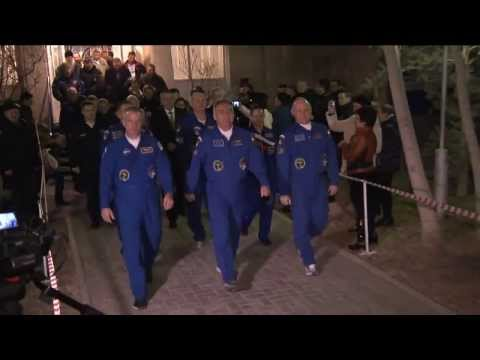 ISS Expedition 39/40 Astronauts/Cosmonauts Launches to the International Space Station
