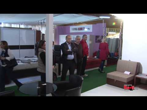Fabrika KURTI at Budva-Montenegro Furniture Fair 2014