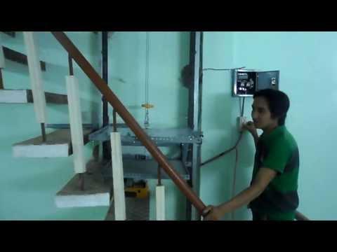 thang máy tự chế Thanh Hải