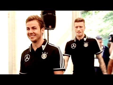 Mario Götze & Marco Reus: Kontrahenten mit Superstarpotential | DFB-Trainingslager Südtirol