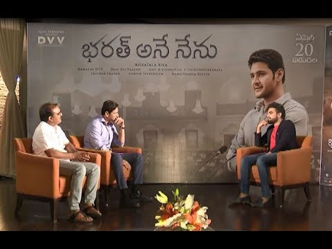 Anchor Pradeep with Mahesh Babu | Bharat Ane Nenu Exclusive Interview