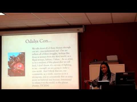 Dr.Tanya Saunders: Cultures of Sexual Diversity in Latin America Jan. 31, 2014