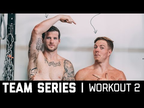 2018 CrossFit Team Series Ohlsen + Mayer | Workout 2