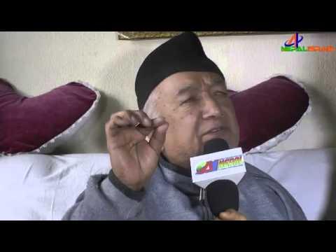 Kamal Chhetri khariboat Paralisase Sick Singer interview sun 28 09 2070 12 01 2014