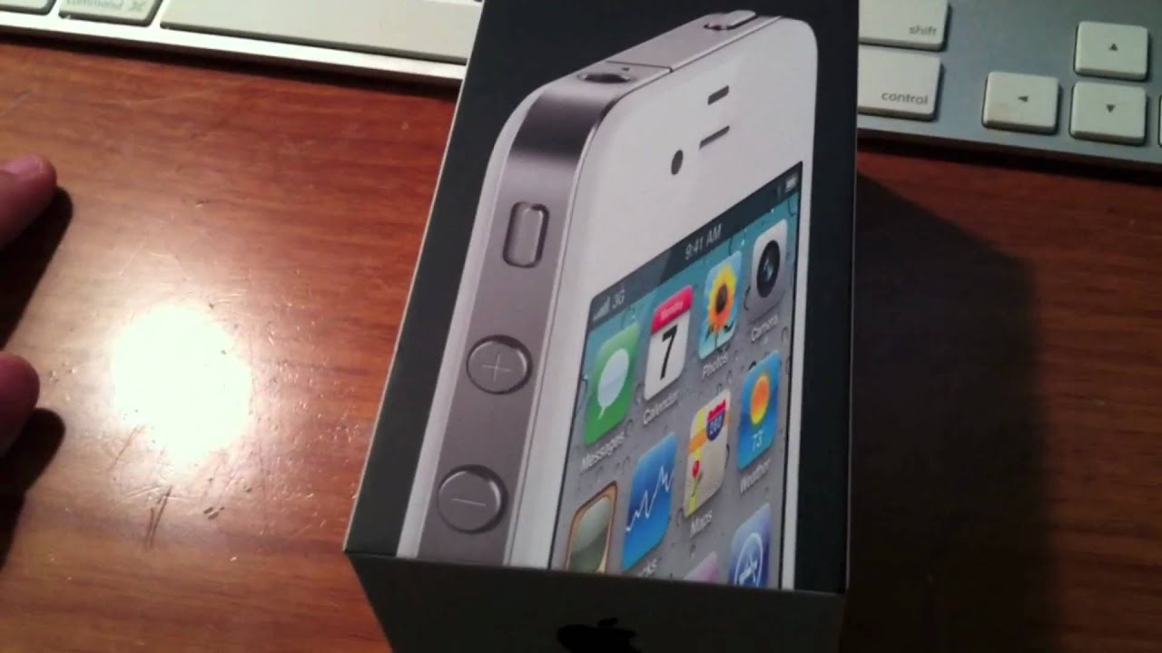how to set up iphone 4