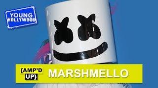 Marshmello Shows Peyton List His Choice Dance Move!