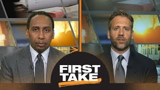 Stephen A. and Max agree Lakers' future relies on Lonzo's development | First Take | ESPN
