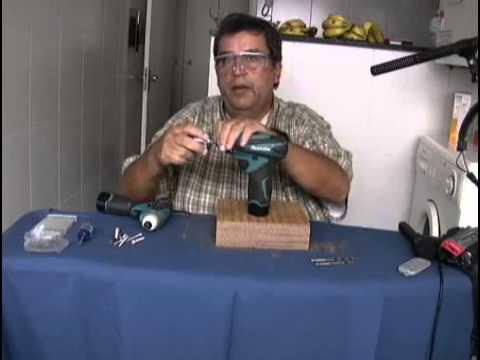 GDM TV   COMPARAÇÃO  FURADEIRA X PARAFUSADEIRA DE IMPACTO   6