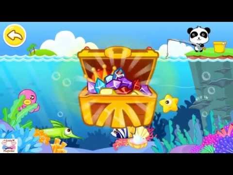 Fishing game - Trò chơi câu cá cùng gấu trúc