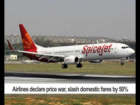 Airlines declare price war, slash domestic fares by 50%