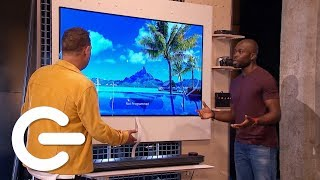 Unboxing The LG Signature OLED TV W - The Gadget Show