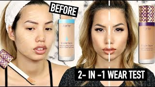 HERE WE GO...THE TARTE SHAPE TAPE FOUNDATIONS 🙄 | 2 - IN - 1 WEAR TEST REVIEW