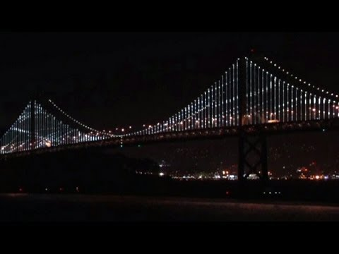 Thousands of LEDs to light up SF-Oakland Bay Bridge