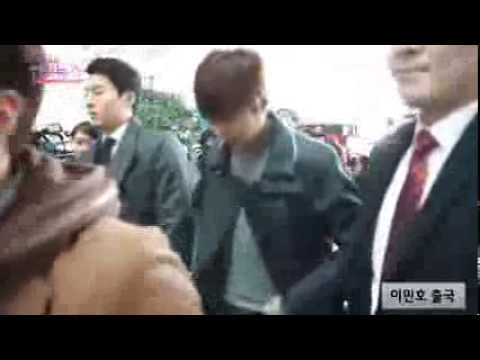 140307 Lee Min Ho @ Incheon Airport heading to Hanzhou
