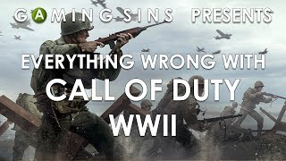 Everything Wrong With Call Of Duty WWII In 12 Minutes Or Less | GamingSins