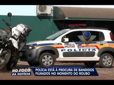 Polícia está a procura de bandidos que roubaram R$ 5 mil em empresa