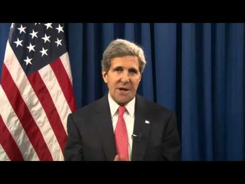 Secretary Kerry's Video Message on the Geneva Talks With Iran