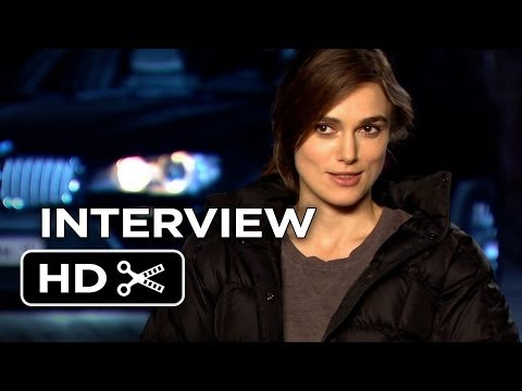Jack Ryan: Shadow Recruit Interview - Keira Knightley (2014) - Chris Pine Movie HD
