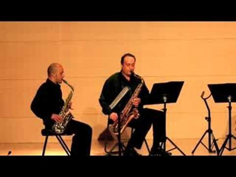 Cuarteto  Saxophonies