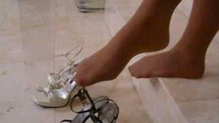 Tan Pantyhose Feet & Legs